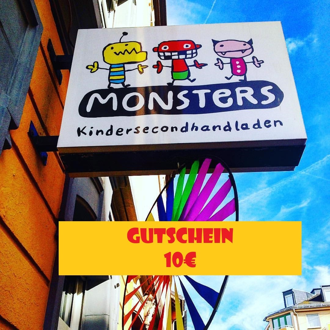 Monsters Gutschein 10€